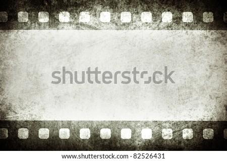 grungy vintage film background - stock photo