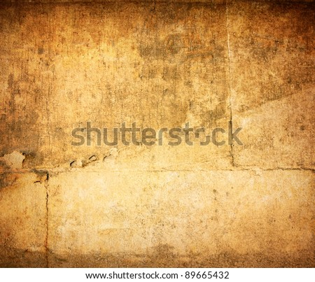 grungy wall - Sandstone surface background.Shot in paris,france - stock photo
