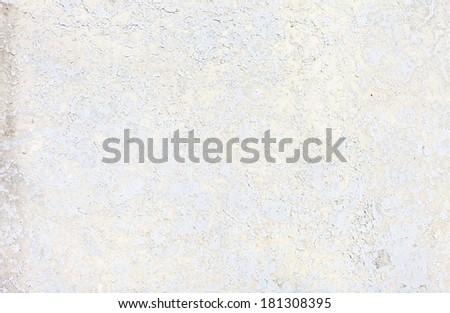 Grungy white concrete wall background - stock photo