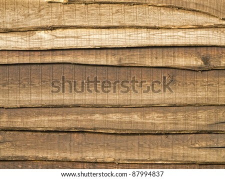 Grungy wood texture from old barn - stock photo