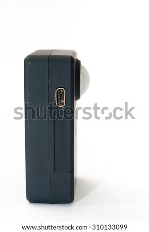 Gsm pir motion detector sensor alarm with sim card. - stock photo