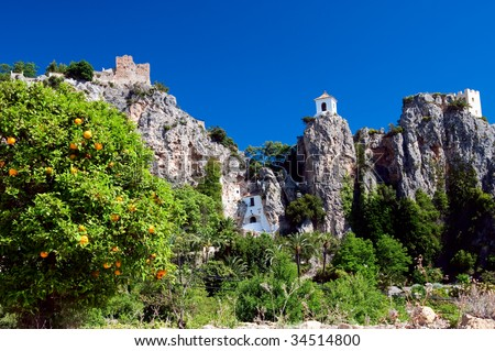 Guadalest. Spain - stock photo