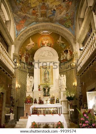 Guadalupe Shrine Mexico City - stock photo