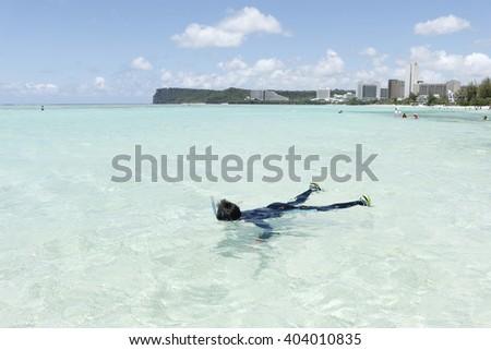 Guam - stock photo