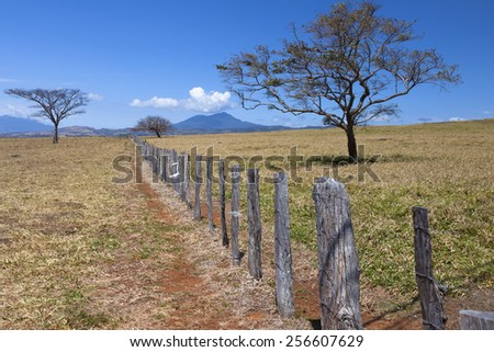 Guanacaste is a province of Costa Rica - stock photo
