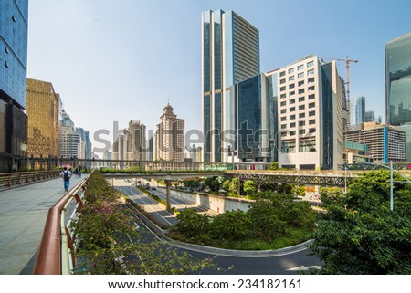 Guangdong City, a big city on the southern of China
