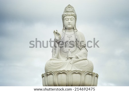 guanyin statue in Thailand.