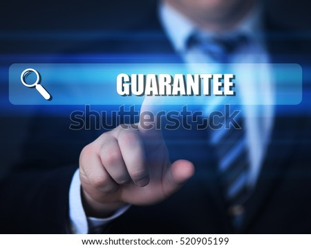 guarantee, quality, customer satisfaction business concept.