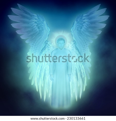 guardian Angel - stock photo