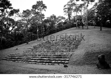 Guatemala life - stock photo