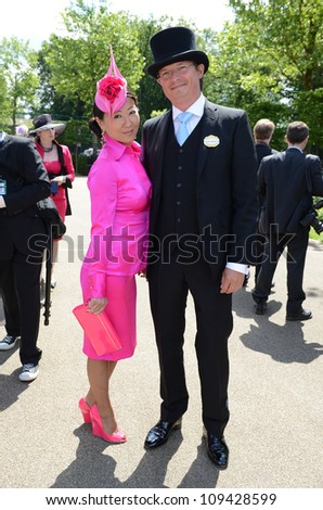Guests attend day 1 of the annual Royal Ascot horse racing event. Ascot, UK. June 19, 2012, Ascot, UK Picture: Catchlight Media / Featureflash