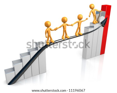 Guide for Success - stock photo