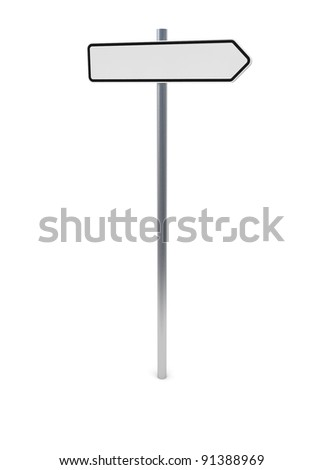 Guide Sign 1 - stock photo