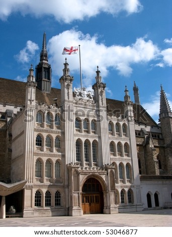 Guildhall, City of London - stock photo