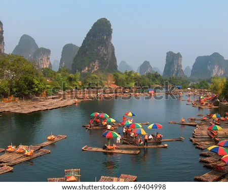 stock-photo-guilin-china-oct-local-boatm