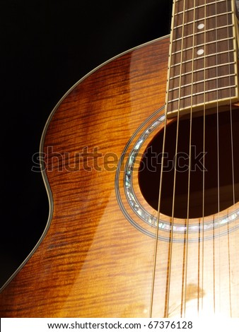 Guitar - stock photo