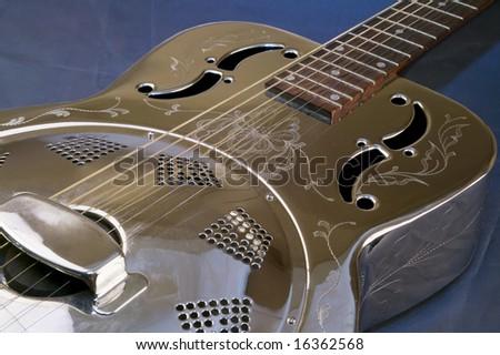 Guitar dobro - stock photo