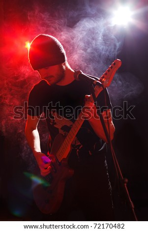 Guitarist - stock photo