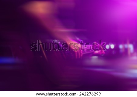 Guitarist on stage for background, soft and blur concept - stock photo