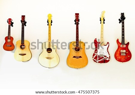 Guitars background
