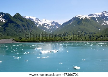 gulf of Alaska - stock photo