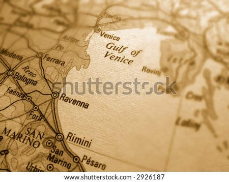 gulf of venice - stock photo