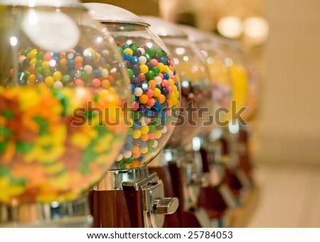 gum dispenser - stock photo