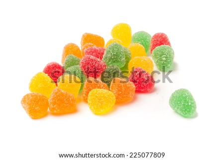 Gumdrops - stock photo