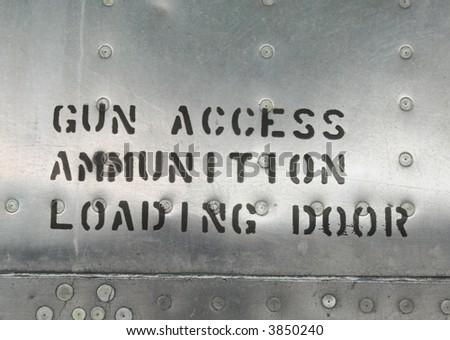 Gun access - stock photo