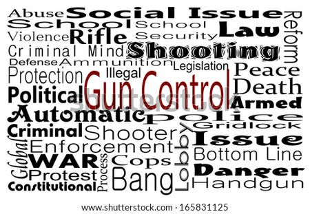 Gun Control - stock photo