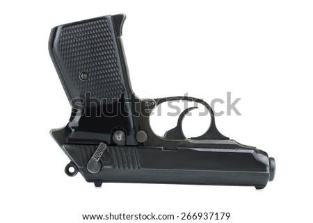 gun isolated - stock photo