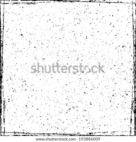 Gunge Frame Overlay Texture for your design.  - stock photo