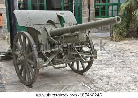 gunner cannon the Spanish Civil War 1935