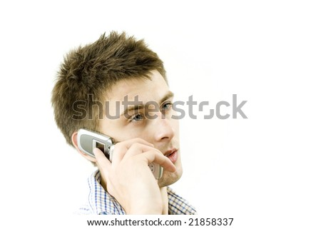 Guy calling to customer service