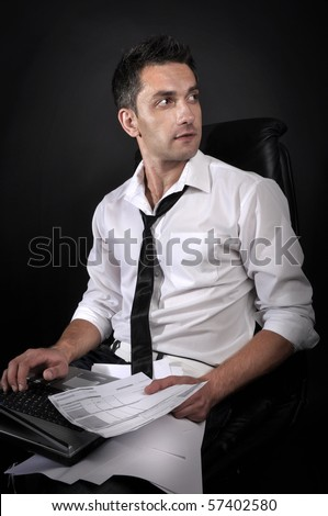 guy with a computer