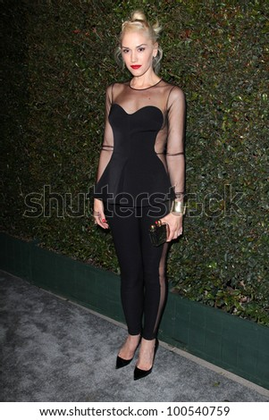 """Gwen Stefani at the """"My Valentine"""" Video Premiere Hosted By Paul McCartney And Stella McCartney, Stella McCartney Boutique, West Hollywood, CA 04-13-12 - stock photo"""
