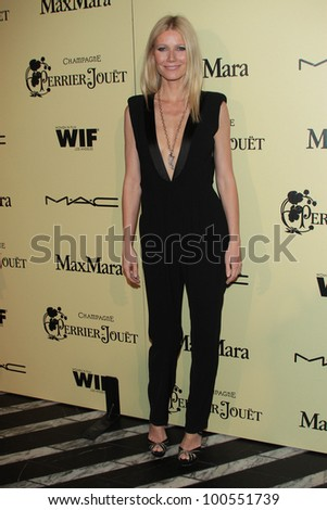 Gwyneth Paltrow at the 5th Annual Women In Film Pre-Oscar Cocktail Party, Cecconi's, Los Angeles, CA 02-24-12 - stock photo