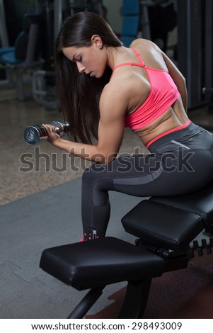 gym and fitness - stock photo