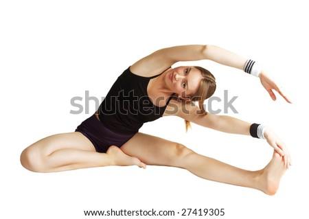 gymnastic - stock photo