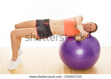 gymnastics - stock photo