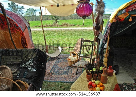 Gypsy Tent & Gypsy Tent Stock Photo 514156987 - Shutterstock