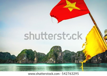 Ha Long Bay, north Vietnam, Quang Ninh Province, Tonchino gulf