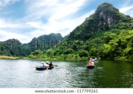 Ha Long bay on land