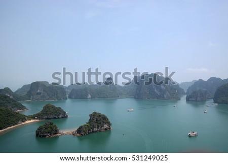 Ha Long Bay, Quang Ninh, In Viet Nam