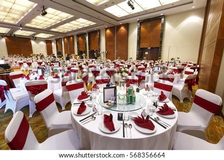 Ha noi capital vietnam october 22 stock photo 568356664 shutterstock ha noi capital vietnam october 22 2016 setting table in a wedding junglespirit Gallery