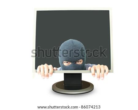 Hacker - stock photo