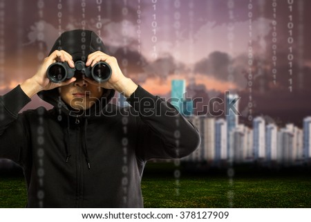 Hackers programmer look and search dat for hack information and data from user account.