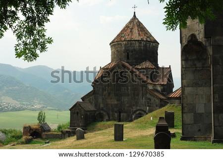 Haghpat monastery, Armenia - stock photo