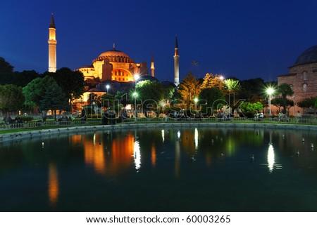 Hagia Sophia - Isntanbul, Turkey - stock photo
