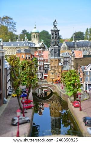 HAGUE - SEPTEMBER 19: , taken on September 19, 2014 in Hague, Netherlands - stock photo